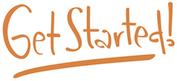 Logoen til Get Started!