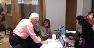 Deltakere i arbeid med Lean Business Platform