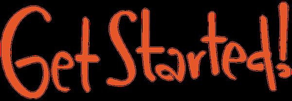 Get Started! logo-liten